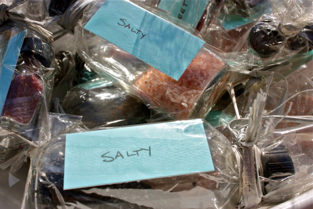 Salty - Sweet - Bitter