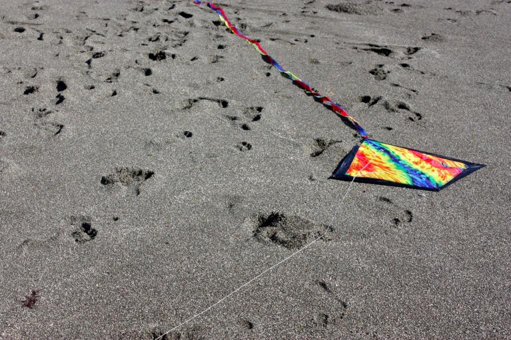 Kite down
